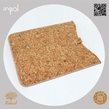 hot selling for ipad mini new product slim cork leather sleeve