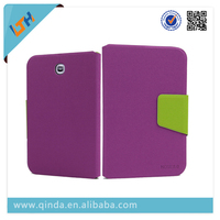 Dual Color Book Style 8 inch Tablet Case PU Leather Case for Samsung Galaxy Note 8.0 N5100
