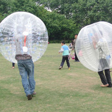 HI Cheap Popular and Crazy battle balls bubble soccer,human sized soccer bubble ball