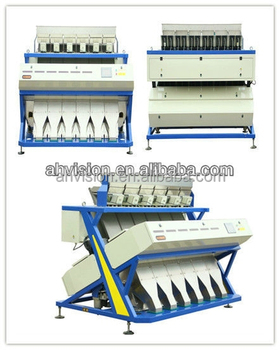 VSEE Brand 5000+pixel intelligent hot sell dry green pea processing machine/pea snack sorting machine