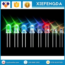 Top Quality Rgb/blue/white/uv 5mm 8mm Round Dip UV LED Diode