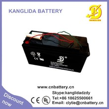 12v 150ah free maintenance agm vrla battery for floor scrubber