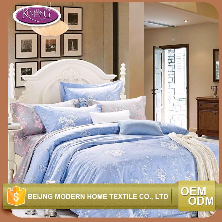 casa de diseo textil reactiva juego de cama de lujo de la fantasa nico impreso