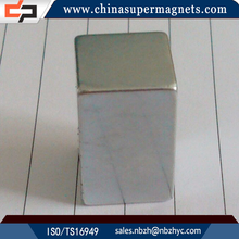 Super Strong Sintered Customized Industrial blocks neodymium magnetic cubes