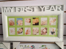 baby hanging plastic photo frame
