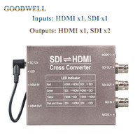 Made in China Mini High Quality 3G/HD/SD-SDI to HDMI Broadcast Grade Converter