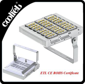 Hot selling bridgelux dimmable most powerful led tunnel flood light housing