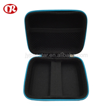 Printing logo color zipper closure eva case for electronic tools