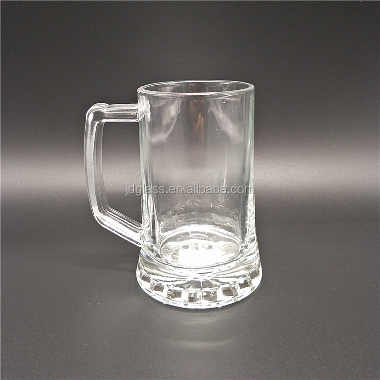 Glass mugs wholesale beer glasses with handles