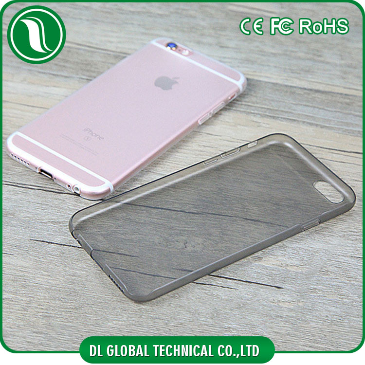 china wholesale Simple Hard PC cell phone case for iphone 6s Clear Matte PC mobile covers for iphone 6s