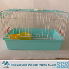 Commercial Wholesale Cheap metal Rabbit Cage Breeding With Plastic Tray For Sale
