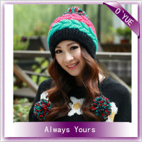 Women Cute Sport Designer Black Ski Mask Hat