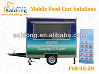 Multifunction Fast Food Van/Mobile Kitchen Truck/Street food kiosk