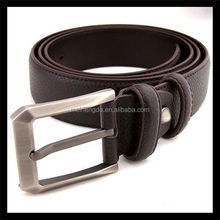 profitable products more for sell men leather synthetic belt with pin buckle