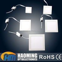 Fine workmanship workshop IP44 low weight 15W recessed surface panel light