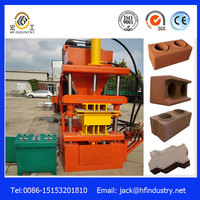 German technology HF2-10 interlock clay brick making machine south africa made in China