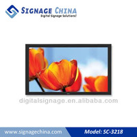 High Definition 720p stereo L/R 10 inch 3G FLV, MP4 Network WIFI Digital Signage Player