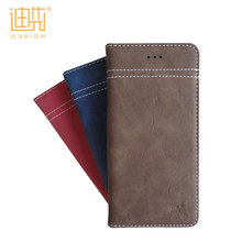 Business ID card holder pu leather phone case for honor huawei,flip mobile phone back cover