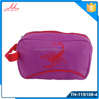 Hot selling custom logo women or man durable cheap travel toilet bag