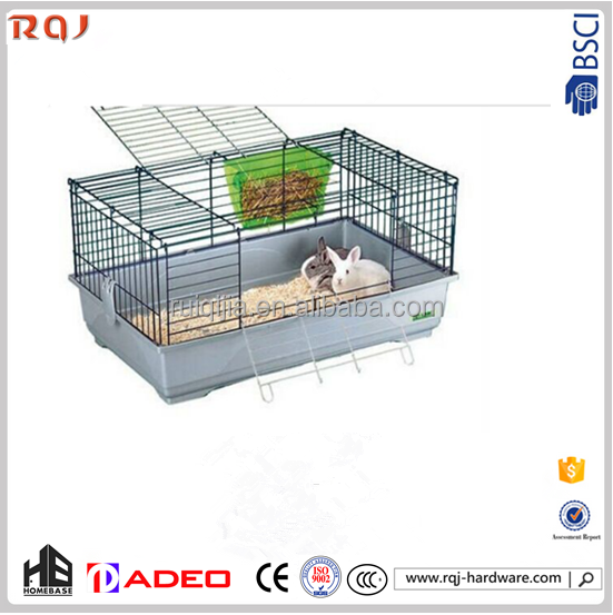 Decoration commercial pet cage large rabbit animal cage for feeding pets