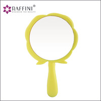 High demand fashionable design flower shaped Hand Cosmetic Mirror