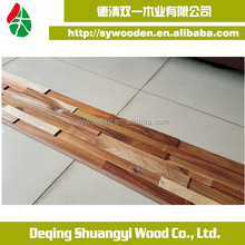 Natural material high quality 3d wood wall panel