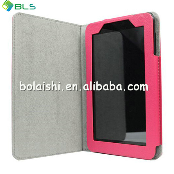 7.0 tablet cover leather case for lenovo a3000 with high quality