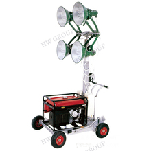Solar led light tower mobile outdoor flood light tower price