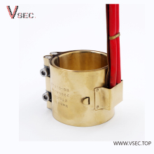 Customized Cast Copper Electric Heater Plastic Extruder Brass Band Heater 220V