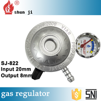 Super quality great material professional supplier gas pipe and regulator