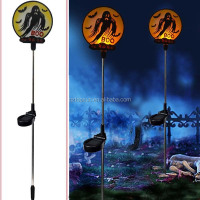 New products Halloween solar stake light garden decor