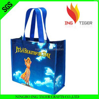 2016 Recyclable Eco Friendly Customized lidl shopping bag