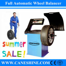 Garage Balancing Weight Tyre Repair Equipment Computer Wheel Balancing Machine/Car Wheel Balancer with Protecting Cover-CS-332BC