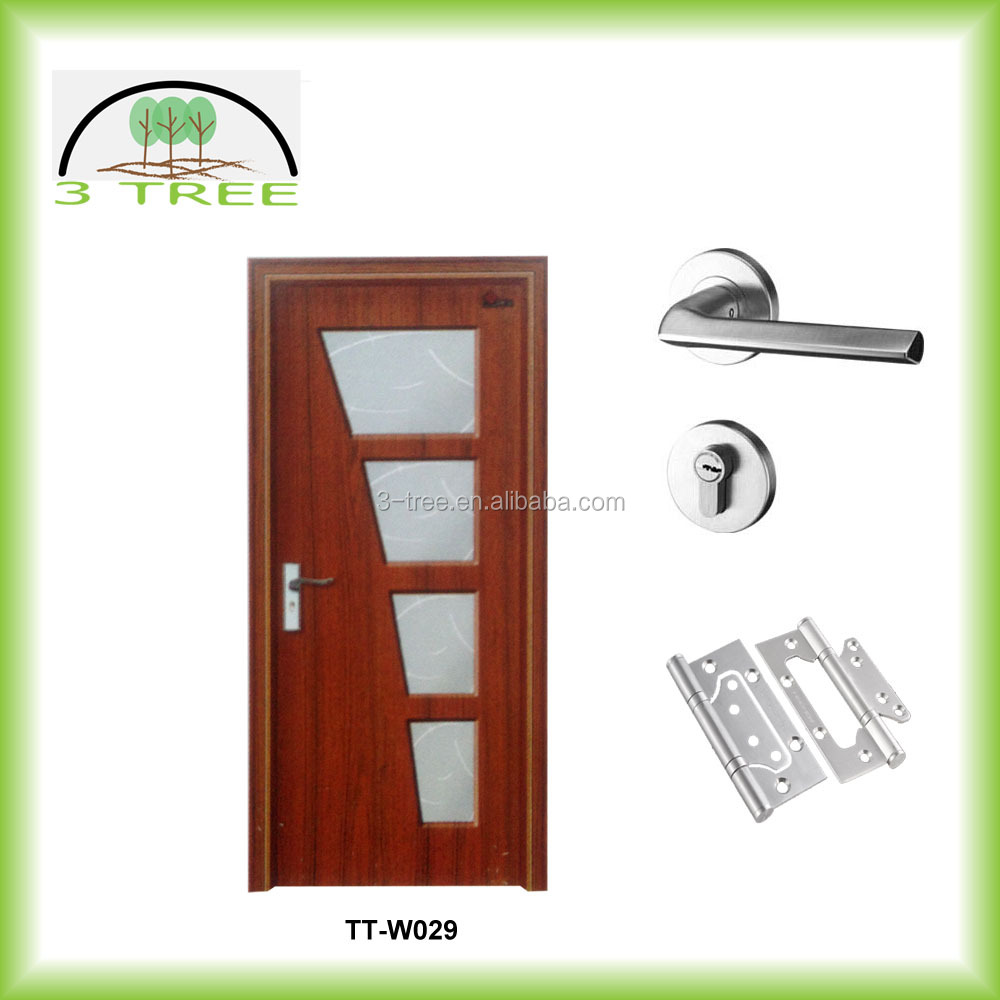 High grade shower frosted glass bathroom door