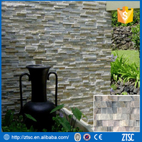 natural slate wall brick tiles home stone decoration for villa