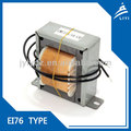 Low-frenquency Lead wire EI76 Power Transformers