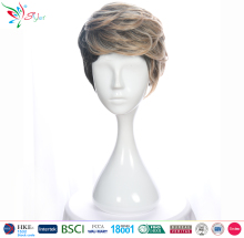 cheap wholesale brown short male wigs men wig