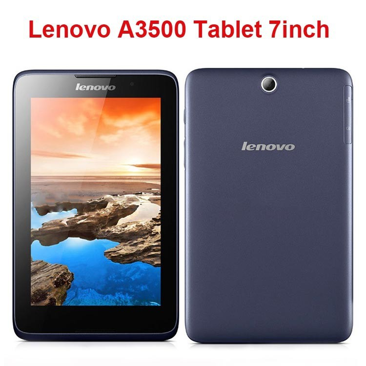 Original 7 inch Lenovo A3500 Quad Core 3G Tablet PC MTK8382 IPS 1280x800 1GB RAM 16GB ROM Android Phone Tablet