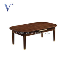 furniture living room modern wooden fancy end table small, extendable coffee table