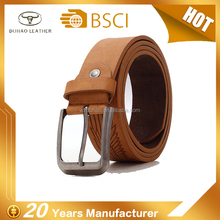 New fashion custom western casual designer leather belts for man
