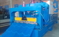Automatic Corrugated Metal Roof Panle Roll Forming Machine, Sheet Metal Roof Making Machine