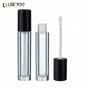 PA-1084B Cylinder plastic empty lip gloss packaging tube