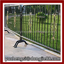 fence model/temporary fence post base/expandable fence expandable barrier