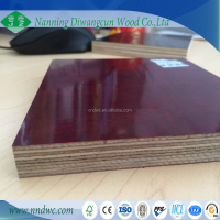 Hot sales waterproof film faced custruction formwork