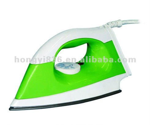 1000W Teflon soleplate iron non-stick coating electric dry iron