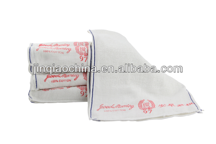 Cheap disposable patterned bathroom hand towels