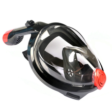 Antifog snorkle mask anti-flog liquid silicone top quality full face snorkels