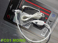 Innovative mobile phone accessory - Air tube radiation free earphone/ headphone/ headset with mono earbud FC01