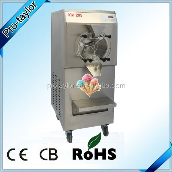 High quality new Gelato Hard Ice Cream Machine price(35L per hour)