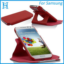 360 degrees rotatable leather case for samsung galaxy s4 i9500